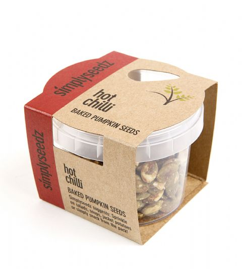 Simply Seedz Baked Pumpkin Seeds - Hot Chilli 40g